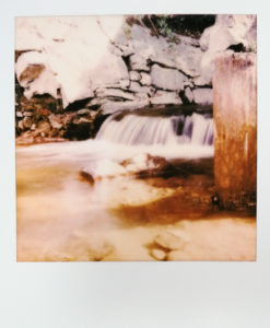 Polaroid_Wasserfall